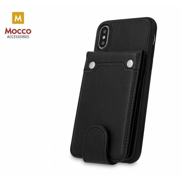 check out 8ecff 04044 Mocco Smart Wallet Eco Leather Case - Card Holder For Apple iPhone XR Black