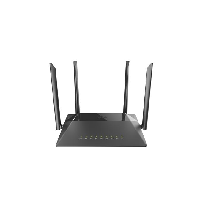 D-Link MU-MIMO Gigabit Router DIR-842 10/100/1000 Mbit/s, Ethernet LAN  (RJ-45) ports 4, 2 4GHz/5GHz, Wi-Fi standards 802 11ac, 300+867 Mbit/s,  Antenna