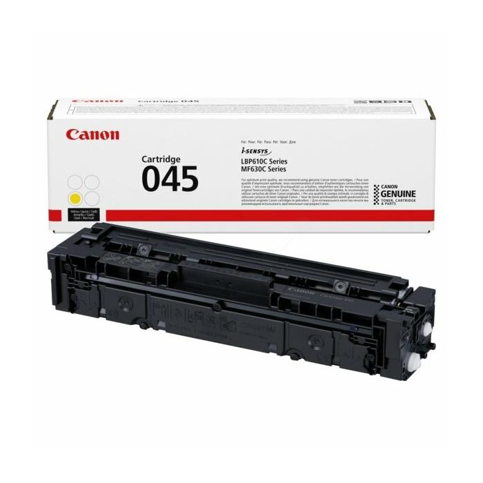 Canon Cartridge CRG-045 Yellow (1239C002) 1300P (Bojāts iepakojums) (1239C002_BB)