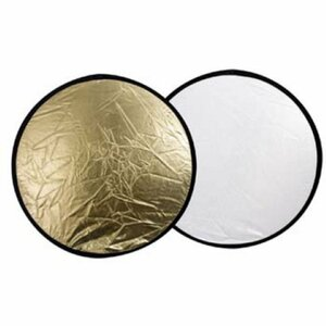 Linkstar reflector 30cm 2in1, golden/silver (R-30GS) (8718127057556)