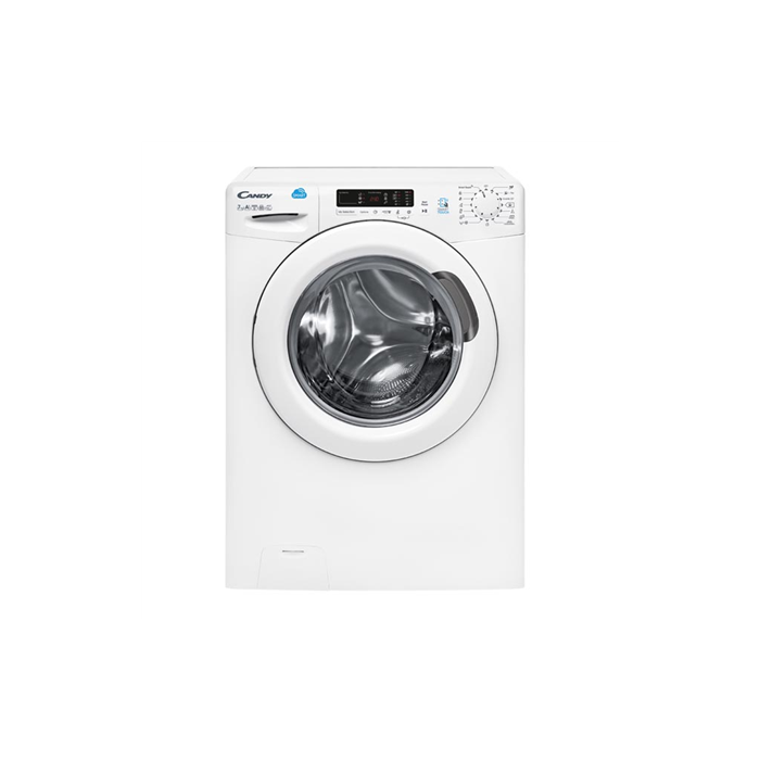 Candy Washing machine CS 1072D3/1 Front loading, Washing capacity 7 kg, 1000 RPM, A+++, Depth 52 cm, Width 60 cm, White, NFC, Display, Yes,