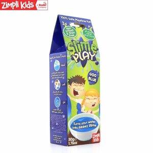 Zimpli Kids Slime Play Zilas krāsas pulveris Glumekļa veidotājs bļodā berniem no 3 + gadiem (Iep. 50gr)
