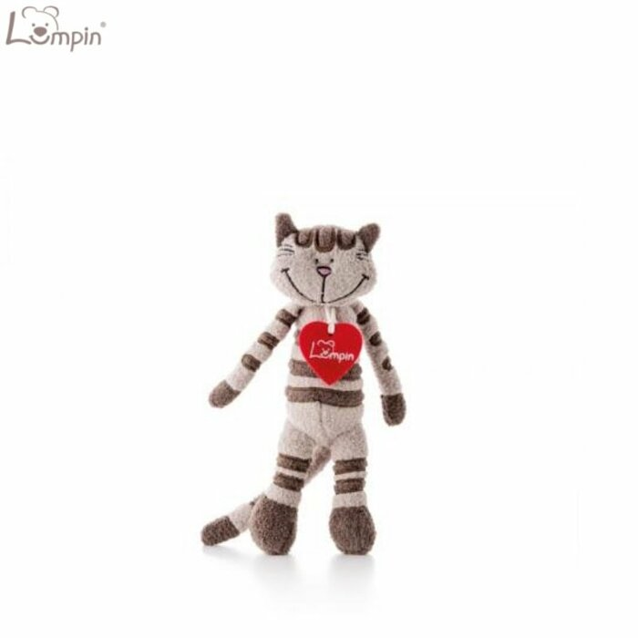 Lumpin 94033 Soft toy Angelique cat for kids 0+ years (mini size 29cm)