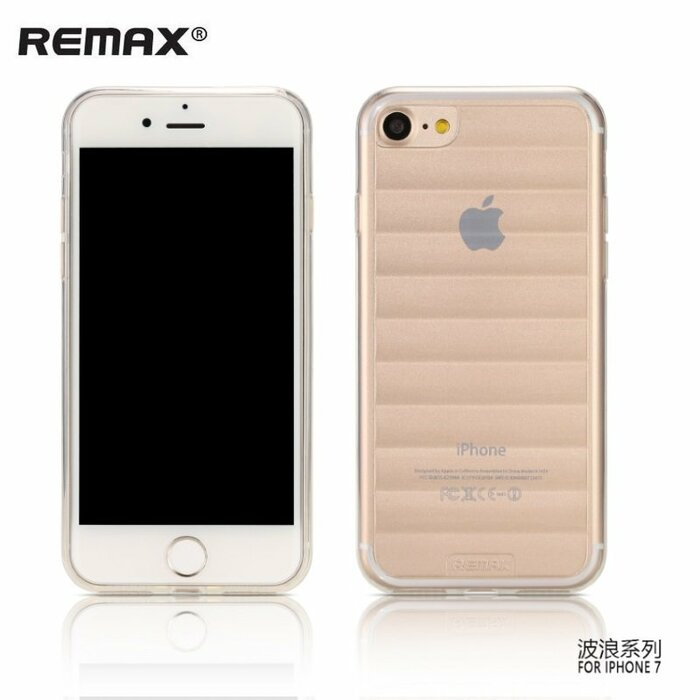 Remax Wave Design Ultra Thin 0.3mm Back case for Apple iPhone 7 / 8 (4.7inch) Transparent