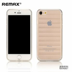 Remax Wave Design Ultra Plāns 0.3mm Maks Apvalks priekš Apple iPhone 7 / 8 (4.7 inch) Caurspīdīgs