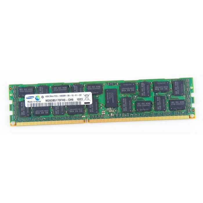 Samsung 4GB 2Rx4 PC3-10600R DDR3 Registered Server-RAM REG ECC