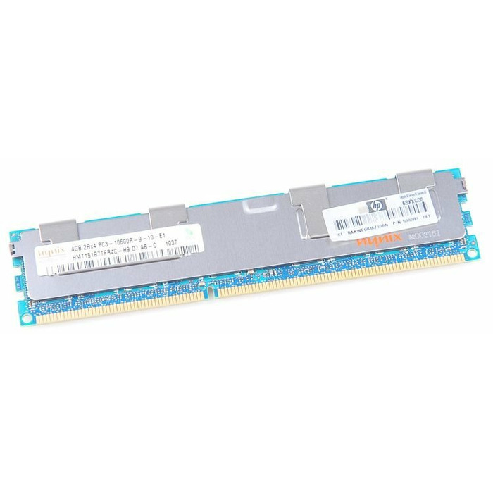 HP 4GB 2Rx4 PC3-10600R DDR3 Registered Server-RAM REG ECC - 500203-061