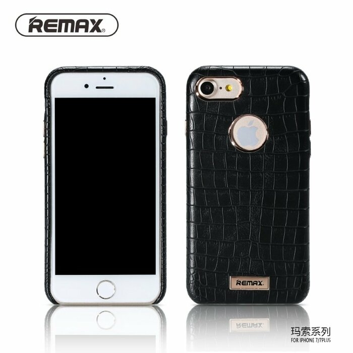 Remax Maso Snake Skin Design 1mm Anti-Shock Hard Back Case Apple iPhone 7 (4.7 inch) Black