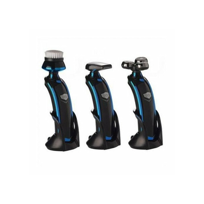 DomoClip Mens shaving and facial clean set  DOS134 Rechargeable, Battery life 1 h, Black