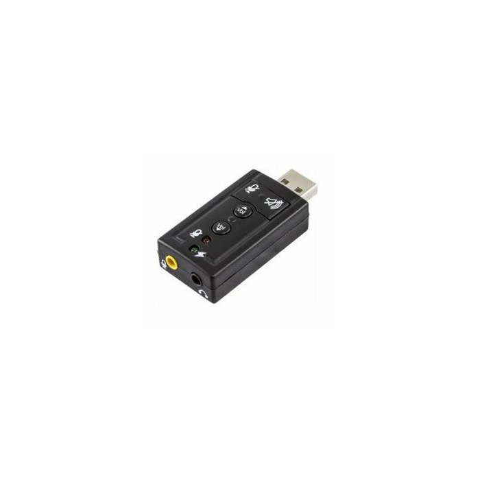 Deltaco UAC-03 audio card 2.0 channels USB