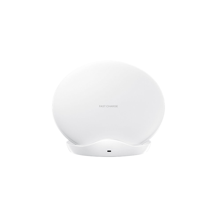 Samsung Wireless fast charger for Galaxy S9 / S9 +, Q, standing, white