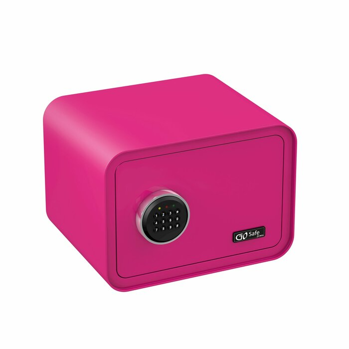 Olympia GO Safe 100 Wall safe Pink