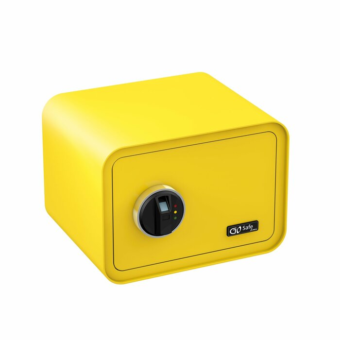 Olympia GO Safe 100 Wall safe Yellow