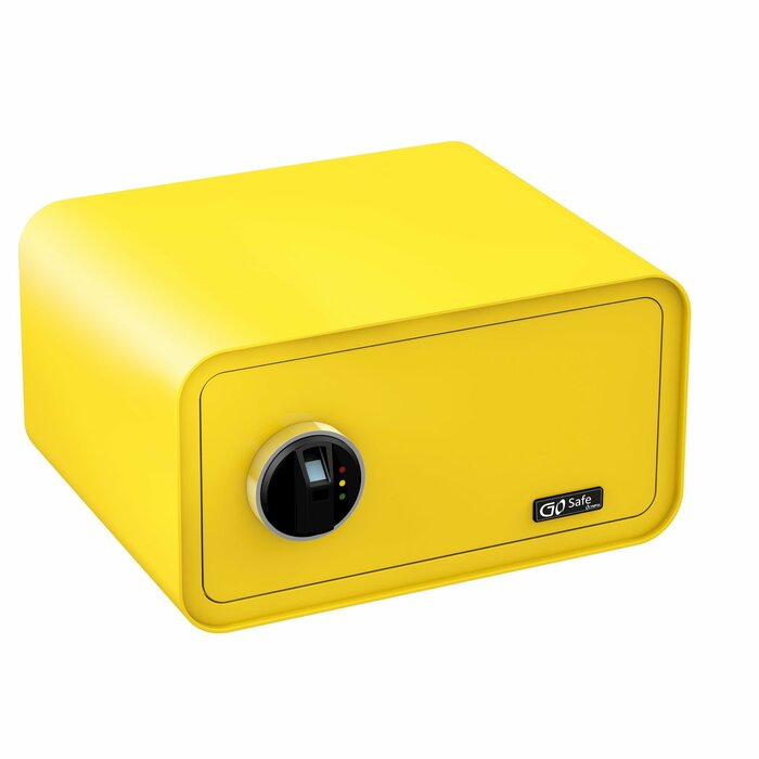 Olympia GO Safe 200 Wall safe Yellow