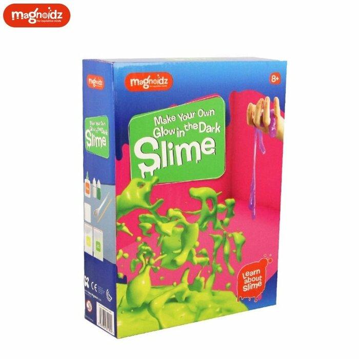 Magnoidz SC289 Creative Glow in the dark Slime making Kit for kids 8+ years