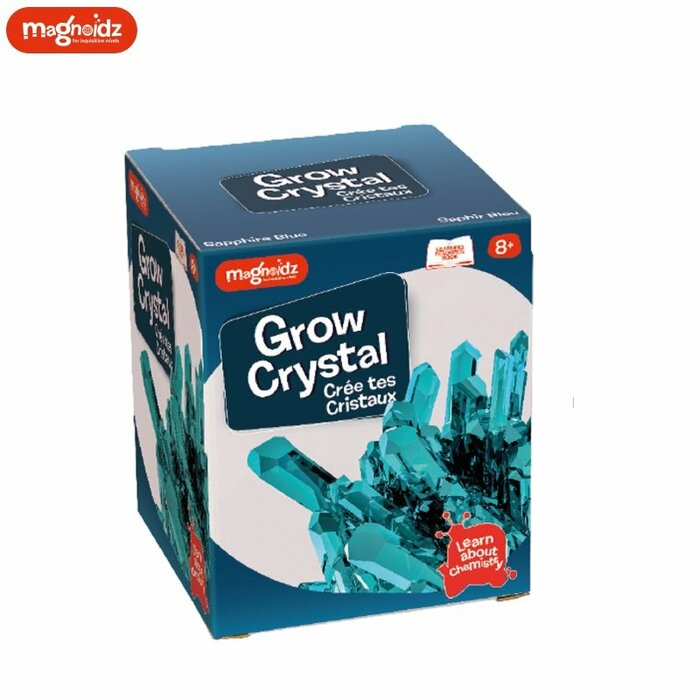 Magnoidz SC254 Creative Crystal Growing Kit for kids 8+ years Blue
