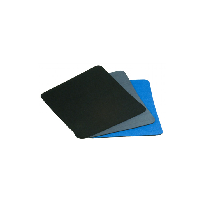 Gembird Mouse pad with header card MP-A1B1-R Mixed colors (Black, Blue, Grey), 220 x 250 x 4 mm