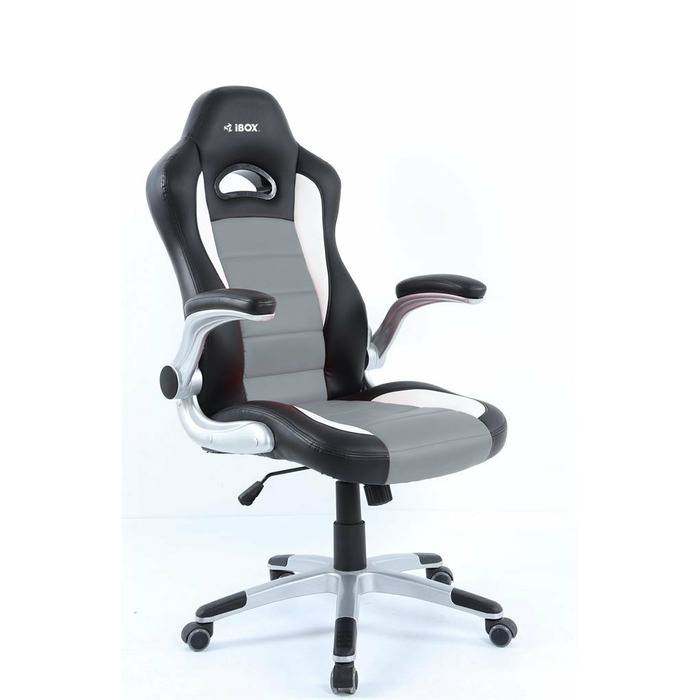 I-BOX AURORA GT2 GAMING ARMCHAIR BK/GR