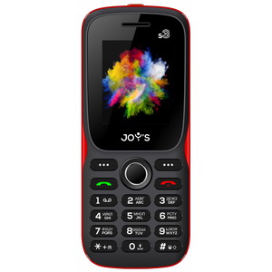 Joys S3 DS Black Red