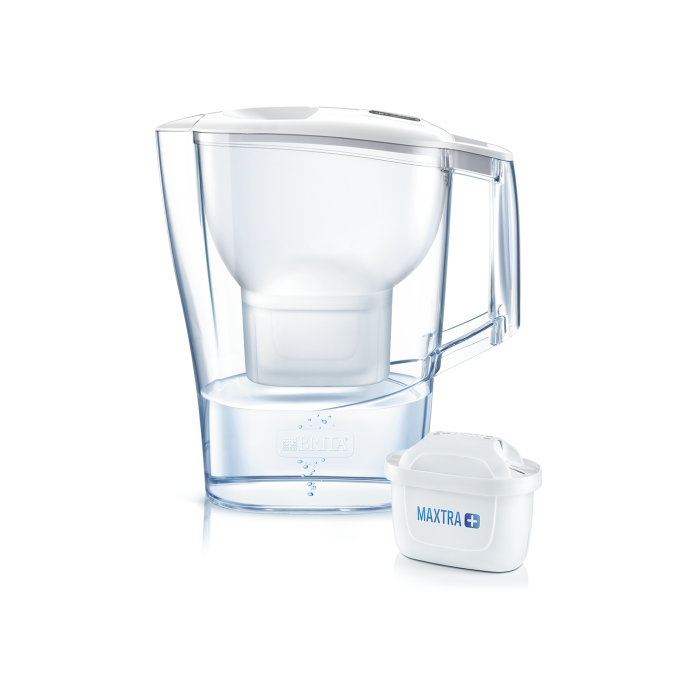 Water filter jug Brita Aluna XL MX Plus | white