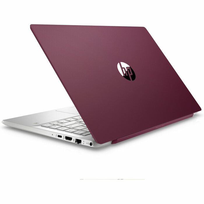 "HP Pavilion 14"" FHD Core i3-8130U 4GB 128GB SSD WIN 10 Burgundy&Silver Outlet"