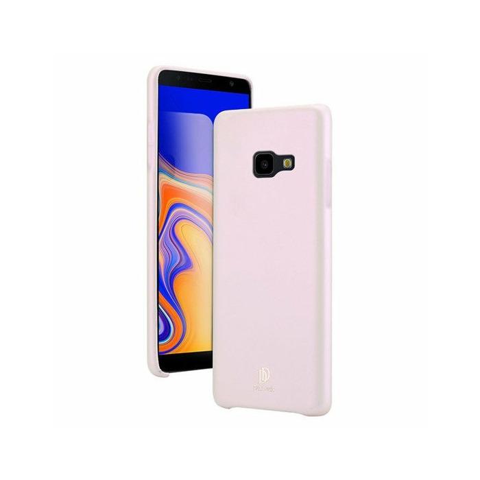 Dux Ducis Skin Lite Case Izturīgs Silikona Aizsargapvalks Priekš Samsung J415 Galaxy J4 Plus (2018) Rozā