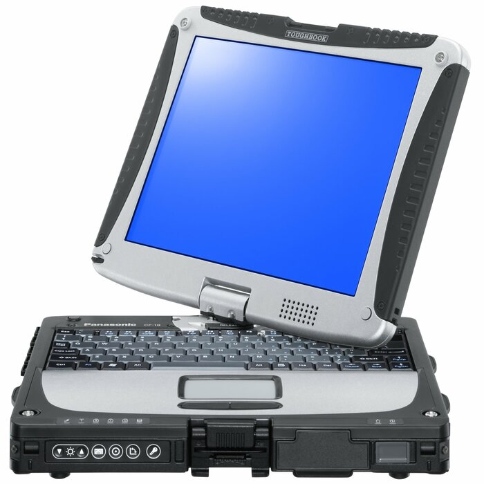"Panasonic Toughbook CF-19 MK6 10.1"" 2-in-1 Touchscreen i5-3320M, 8 GB RAM, 240GB SSD, 3G, Window 7 Pro"