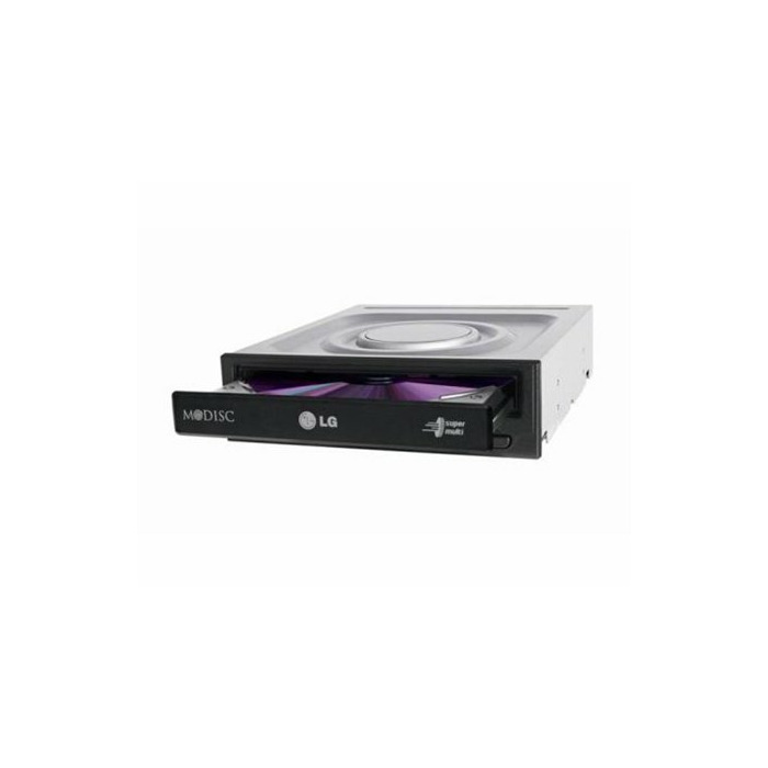 LG GH24NSD5 optical disc drive Internal DVD Super Multi DL Black