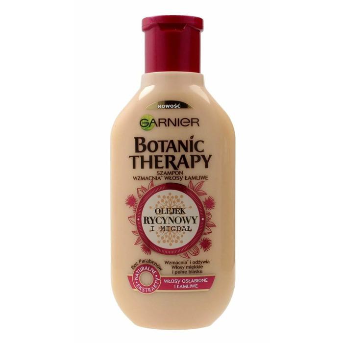 Shampoo Garnier Botanic Therapy Olejek Rycynowy i Migdał (Universal; 250 ml)