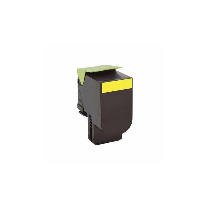 Premium WhiteBox Toner Lexmark 702 comp. yellow