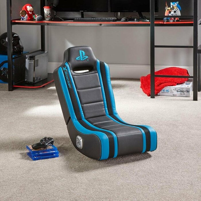 X Rocker Geist 2.0 Console gaming chair Padded seat Black, Blue