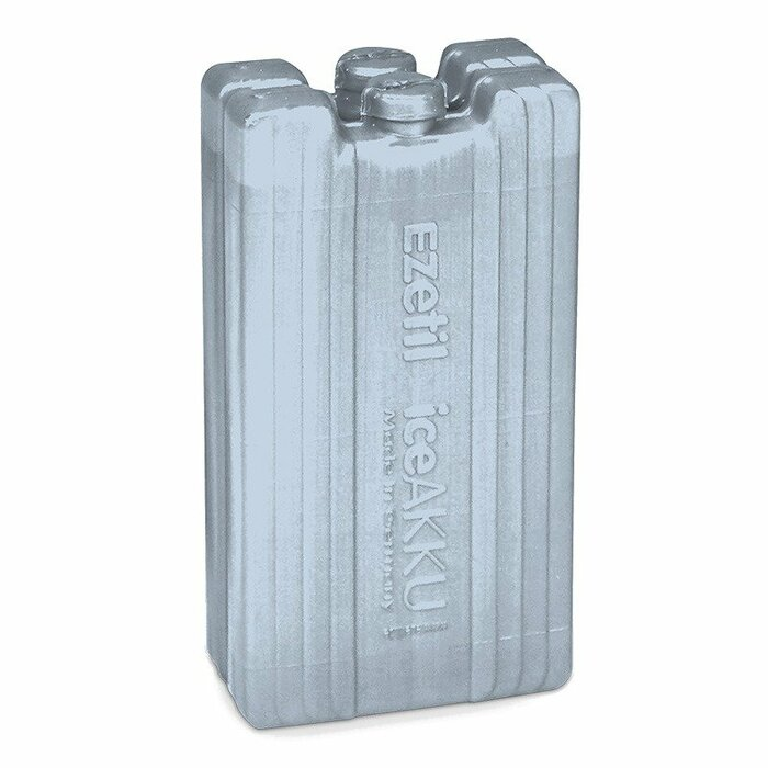 2x200ml Ice Pack Deep Freeze Silver