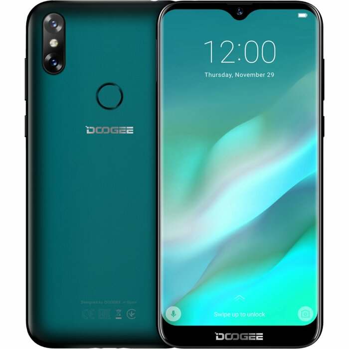 DOOGEE X90L  Emerald Green