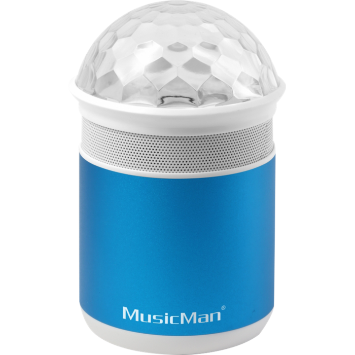 MusicMan Disco Bluetooth Soundstation BT-X17 blue