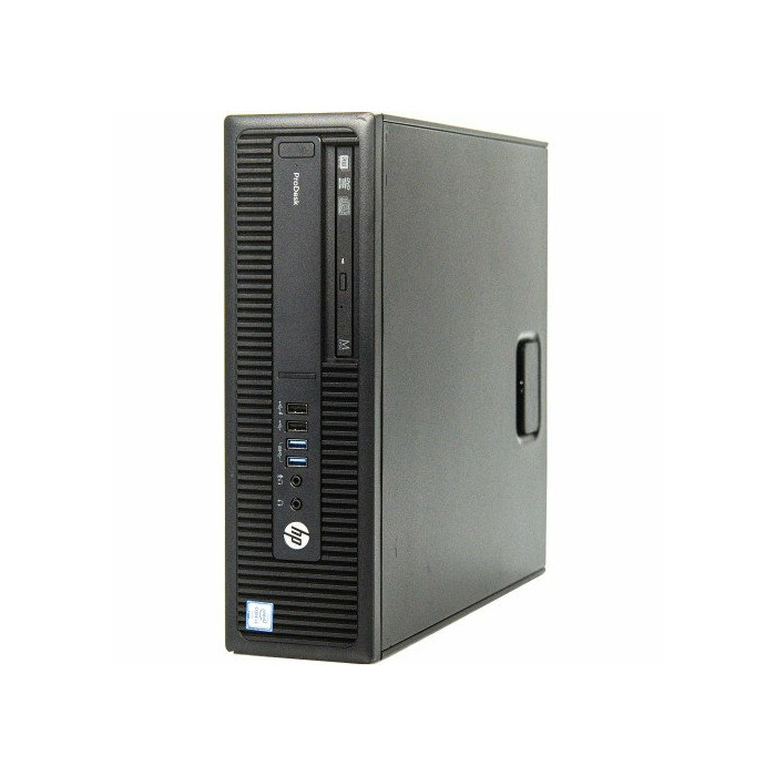 HP ProDesk 600 G2 SFF i5-6600K, 8GB RAM, 120GB SSD+ 500GB HDD, DVDRW, Windows 10 Pro