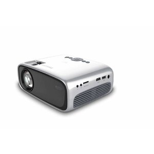 Philips NPX440/INT data projector Portable projector 2600 ANSI lumens LCD 800 x 480 Black, Silver