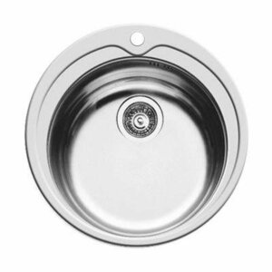 Kitchen sink Maidsinks KIBA ECO fi 49cm 101050401 (silver color)