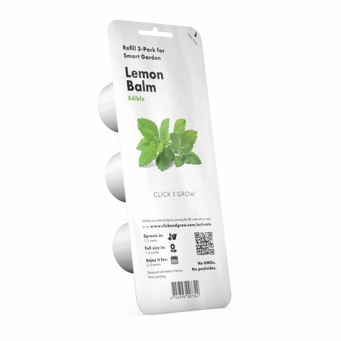 SMART HOME LEMON BALM REFILL/3PACK SGR12X3 CLICK&GROW