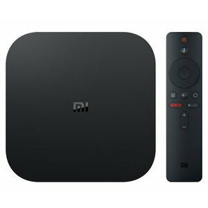 Xiaomi Mi Box S Black 4K Ultra HD 8 GB Wi-Fi