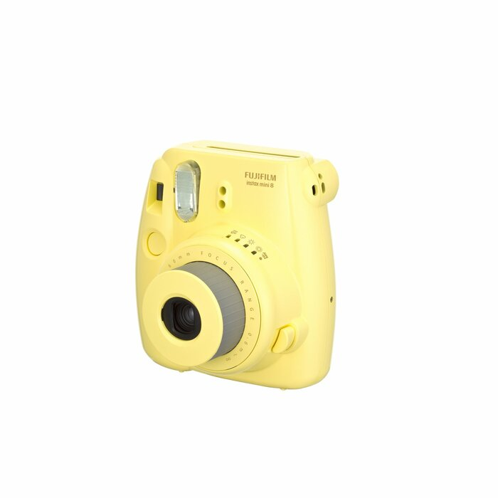 Fujifilm instax mini 8 instant print camera Yellow