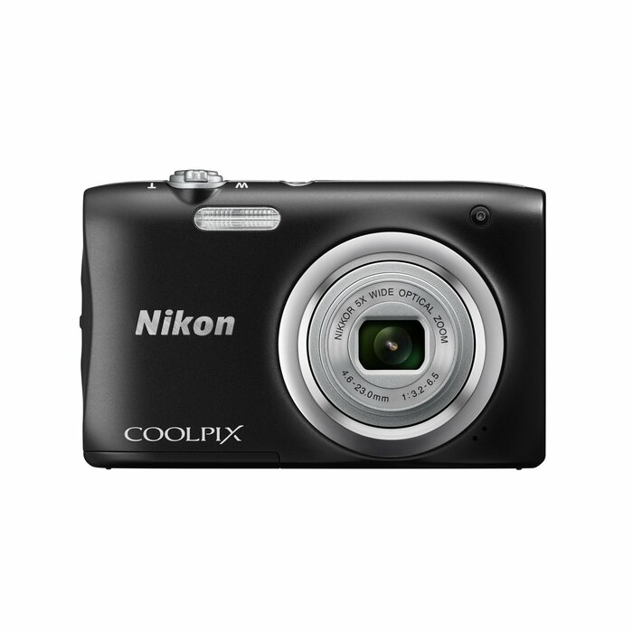 "Nikon COOLPIX A100 Compact camera 20.1 MP 1/2.3"" CCD 5152 x 3864 pixels Black"