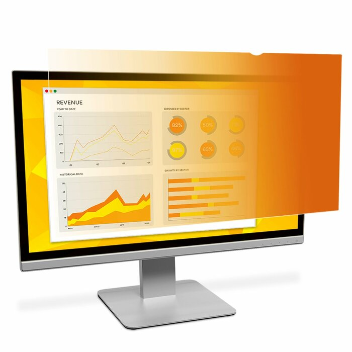 "3M Gold Privacy Filter for 19"" Standard Monitor"