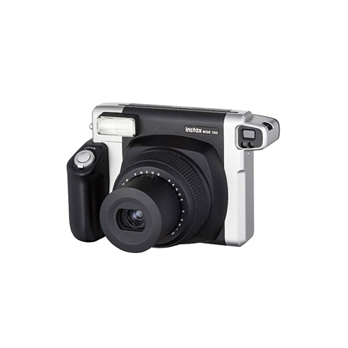 Fujifilm Instax Wide 300 camera Black, Alkaline, 800, 0.3m - ∞