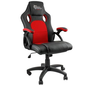 White Shark Gaming Chair Kings Throne black/red