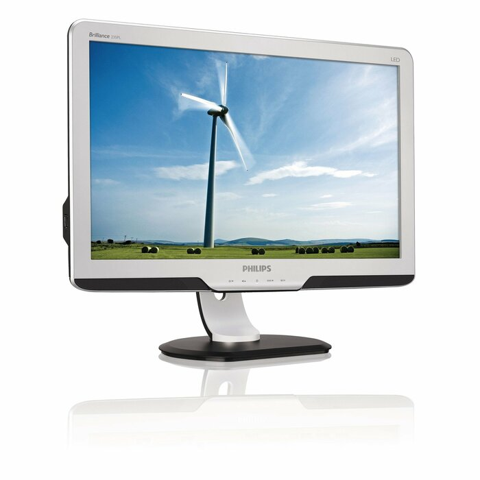 "Philips Brilliance 235PL2ES/93 23"" Full HD LCD/TFT Black,Silver computer monitor LED display"