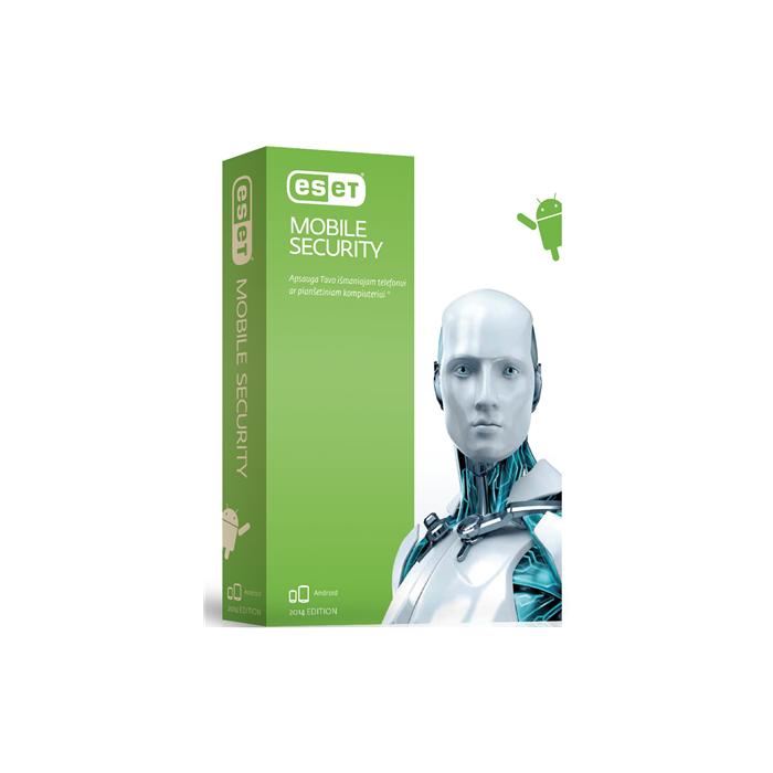 Eset Mobile Security, New licence, 1 year(s), License quantity 1 user(s), BOX