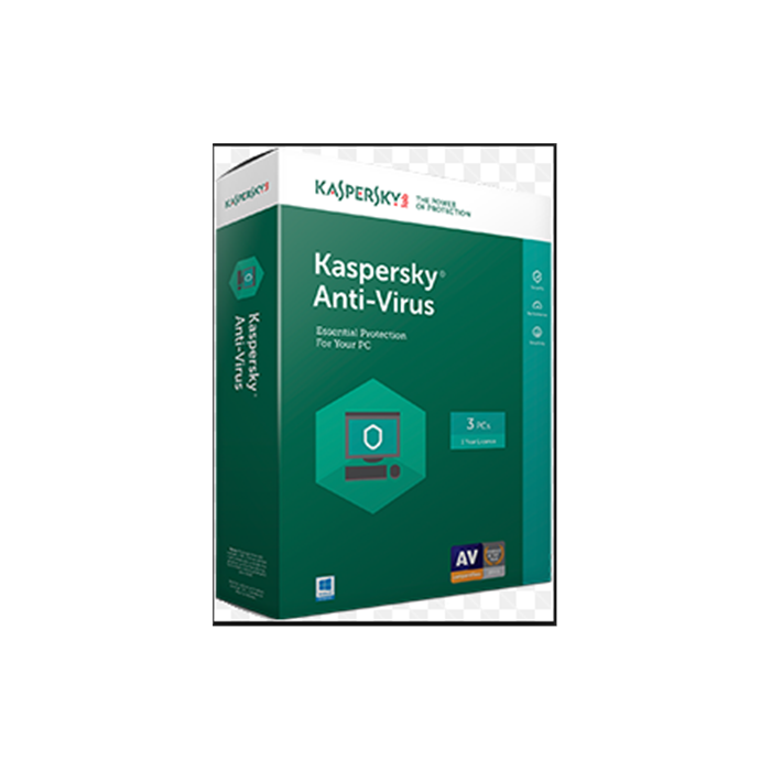 Kaspersky Antivirus, New licence, 1 year(s), License quantity 1 user(s), BOX