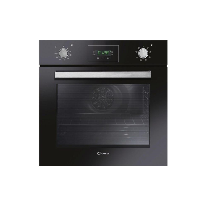 Candy FPE629/6NXL Multifunction Oven, 69 L, Black, AQUA clean system, A, Push/Pull Knobs, Height 60 cm, Width 60 cm, Integrated timer