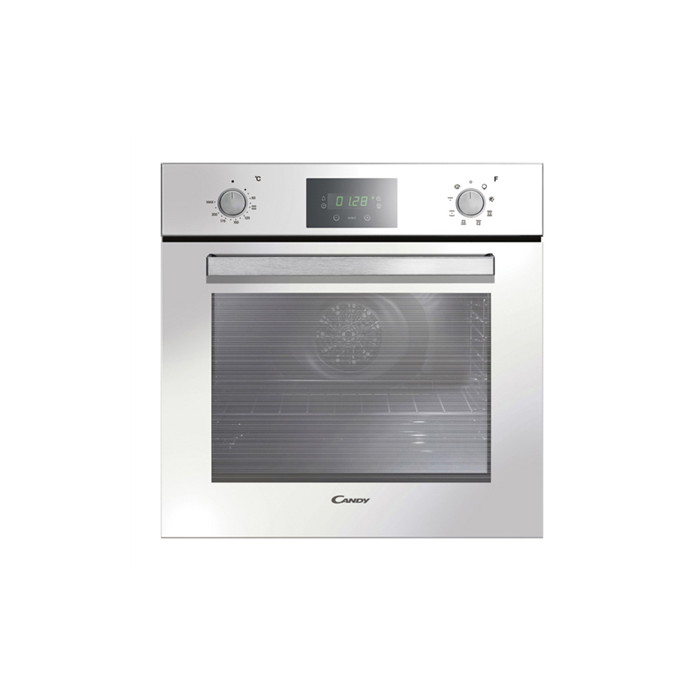 Candy FPE629/6WXL Multifunction Oven, 69 L, White, AQUA clean system, A, Push/Pull Knobs, Height 60 cm, Width 60 cm, Integrated timer
