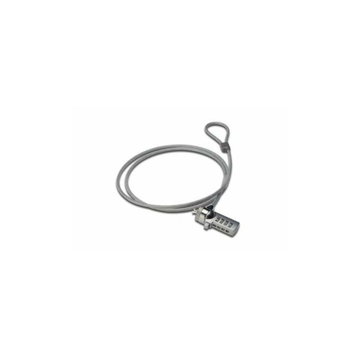 Ednet 64134 cable lock Grey,Silver 1.5 m